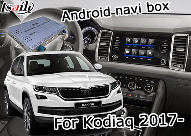 Skoda Kodiaq Easy Installation GPS Navigation Device Support Android Interface Youtube Video Play