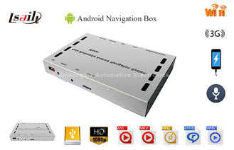 Car AV Boxes GPS Android Navigator Box Flash Memory 8G 1.2G ~ 1.6G Hz TF Card