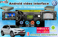 SCHNITTSTELLEN-Navigations-Touch Screen 6,5 VW SKODA GPS Android Selbstzoll RCD550