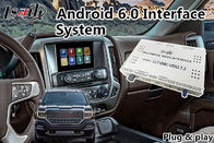 China Multimedia-Videoschnittstelle Androids 6,0 für GMC-Sierra Waze 2014-2018 Mirrorlink Google usine