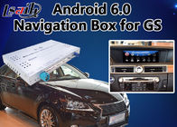 Video-Schnittstelle Androids 6,0 für Mäuseversion 2014-2018 Lexuss GS, Auto Gps-Navigations-Kasten Mirrorlink GS450h GS350